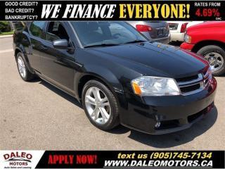 Used 2012 Dodge Avenger SXT| HEATED SEATS| SATELLITE RADIO for sale in Hamilton, ON