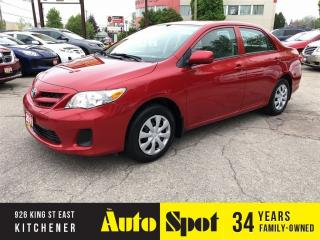 Used 2011 Toyota Corolla CE/LOW, LOW KMS/PRICED - QUICK SALE ! for sale in Kitchener, ON