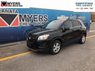 Used 2013 Chevrolet Trax LT ALL WHEEL DRIVE ONE OWNER for sale in Ottawa, ON