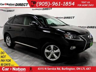 Used 2013 Lexus RX 350 | AWD| BACK UP CAMERA| SUNROOF| for sale in Burlington, ON