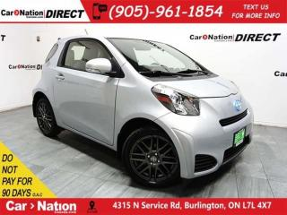 Used 2014 Scion iQ | ONE PRICE INTEGRITY| OPEN SUNDAYS| for sale in Burlington, ON