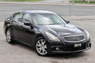 Used 2010 Infiniti G37 X for sale in Scarborough, ON