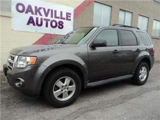 Used 2011 Ford Escape XLT FWD LEATHER XLT V6 for sale in Oakville, ON