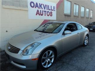 Used 2005 Infiniti G35 Coupe for sale in Oakville, ON