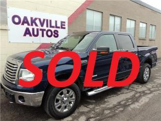 Used 2011 Ford F-150 XLT 4x4 XTR SAFETY WARRANTY SUPERCREW  INCL 4 DOOR for sale in Oakville, ON