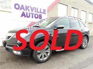 Used 2012 Acura MDX 7 Pass & Safety included for sale in Oakville, ON