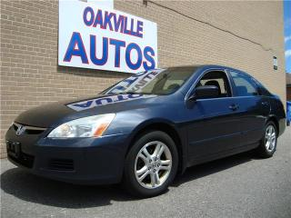 Used 2007 Honda Accord Sdn SE for sale in Oakville, ON