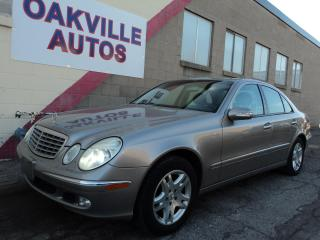 Used 2004 Mercedes ECLASS E320 4MATIC for sale in Oakville, ON