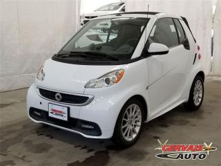 Used 2013 Smart fortwo PASSION CONVERTIBLE for sale in Trois-rivieres, QC