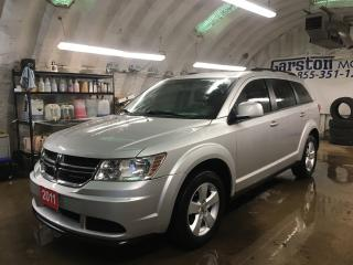 Used 2011 Dodge Journey PUSH BUTTON IGNITION*2 SETS OF TIRES*KEYLESS ENTRY*POWER WINDOWS/LOCKS/HEATED MIRRORS*DUAL ZONE CLIMATE CONTROL*TRACTION CONTROL* for sale in Cambridge, ON