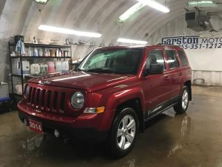 Used 2014 Jeep Patriot NORTH*4WD*U CONNECT PHONE*KEYLESS ENTRY*POWER WINDOWS/LOCKS/MIRRORS*CRUISE CONTROL*CLIMATE CONTROL* for sale in Cambridge, ON