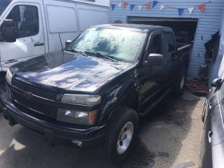 Used 2006 Chevrolet Colorado Crew Cab 126.0  WB 4WD LT w/1LT for sale in Coquitlam, BC