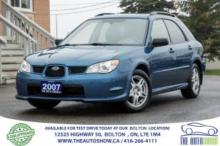 Used 2007 Subaru Impreza 4 new tires 4 new brakes Certified 5dr AWD 2.5L for sale in Caledon, ON