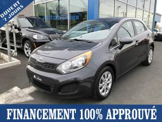 Used 2014 Kia Rio LX+ for sale in Longueuil, QC