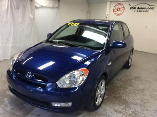 Used 2008 Hyundai Accent GL Sport for sale in L'ancienne-lorette, QC