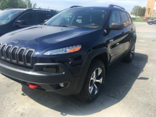 Used 2015 Jeep Cherokee Trailhawk 4X4 CUIT, TOIT, NAV for sale in Sherbrooke, QC