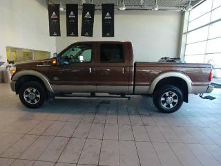 Used 2011 Ford F-350 Super Duty SRW F-350 King Ranch - B/U Cam, Heated Leather, Heated Wheel + Sunroof! for sale in Red Deer, AB