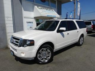 Used 2013 Ford Expedition Max Limited 4x4, Nav, Sunroof, Leather, 8 Pass.. for sale in Langley, BC