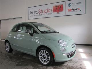 Used 2012 Fiat 500 C Lounge Convertible for sale in Mirabel, QC