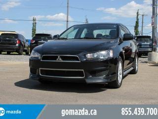 Used 2013 Mitsubishi Lancer CAR for sale in Edmonton, AB