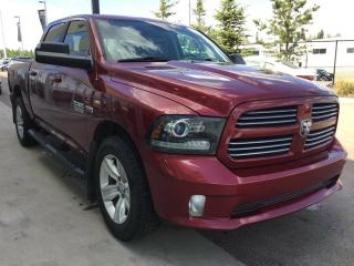 Used 2014 RAM 1500 SPORT, 4WD, ACCIDENT FREE for sale in Edmonton, AB