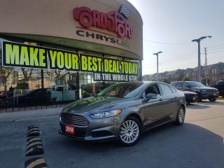 Used 2014 Ford Fusion SE Hybrid for sale in Scarborough, ON