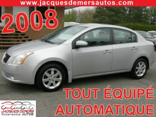 Used 2008 Nissan Sentra CVT for sale in Victoriaville, QC