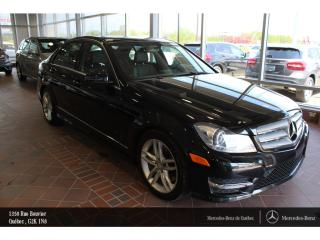 Used 2013 Mercedes-Benz C-Class C300 Awd, T.ouvrant for sale in Quebec, QC