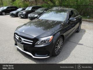 Used 2015 Mercedes-Benz C-Class C400 Awd, Toit Pano for sale in Quebec, QC