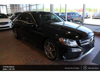 Used 2015 Mercedes-Benz C-Class C300 Awd, Toit Pano for sale in Quebec, QC