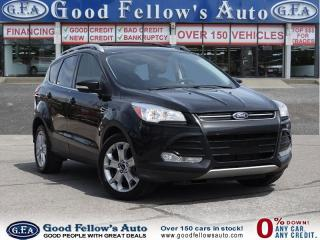 Used 2014 Ford Escape TITANIUM MODEL, LEATHER SEATS, FWD, PANORAMIC ROOF for sale in North York, ON