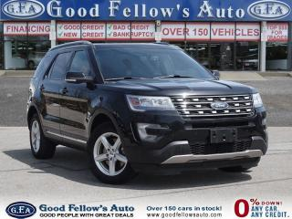 Used 2016 Ford Explorer XLT MODEL, 7 PASSENGER, LEATHER SEATS, 4WD for sale in North York, ON
