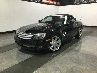 Used 2005 Chrysler Crossfire DÉCAPOTABLE-MANUELLE-SUPER PROPRE-JAMAIS for sale in Carignan, QC