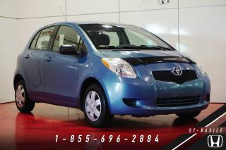 Used 2007 Toyota Yaris LE HATCHBACK + BIEN ENTRETENUE + PORTE É for sale in St-Basile-le-Grand, QC
