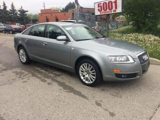 Used 2008 Audi A6 ONLY 35000K,3.2LONE OWNER,NO ACCIDENT,NAV,B/U CAM for sale in North York, ON
