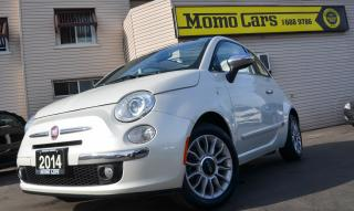 Used 2014 Fiat 500 Lounge!Convertible!Leather seats!ONLY$111Bi-weekly for sale in St Catharines, ON