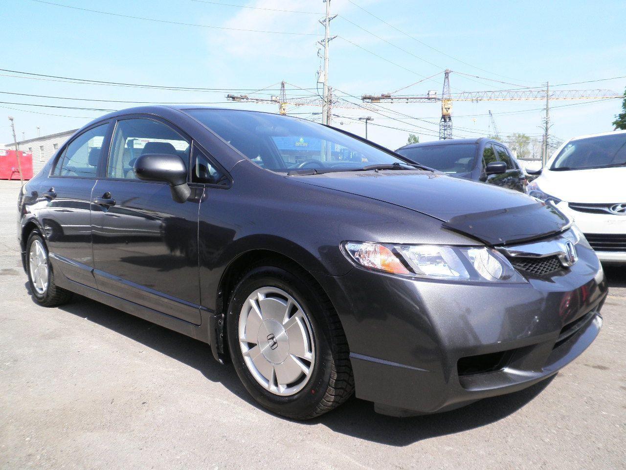 Photo of Gray 2009 Honda Civic