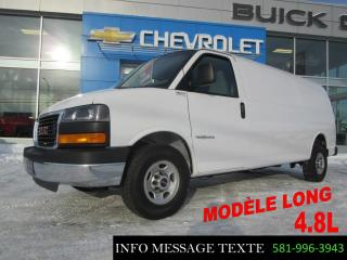 Used 2017 Chevrolet Express Longue, Grp Chrome for sale in Ste-Marie, QC