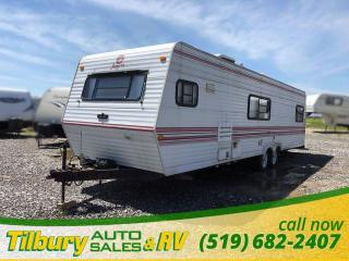 Used 1991 Jayco Trailer Travel-Trailer **AS IS** for sale in Tilbury, ON