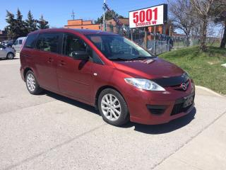 Used 2008 Mazda MAZDA5 6PASSENGERS,SAFETY+3YEARS WARRANTY INCLUDED for sale in North York, ON