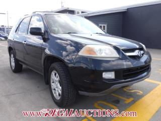 Used 2006 Acura MDX  4D UTILITY 4WD for sale in Calgary, AB