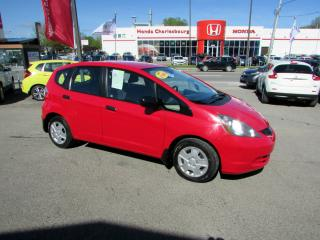 Used 2014 Honda Fit DX-A AUTOMATIQUE *BAS KM* for sale in Quebec, QC