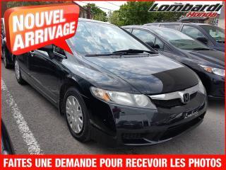 Used 2009 Honda Civic DX**CONDITION GÉNÉRAL EXCEPTIONNELLE** for sale in Saint-leonard, QC