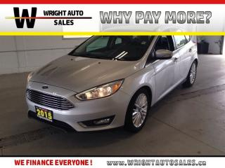 Used 2015 Ford Focus Titanium|NAVIGATION|SUNROOF|LEATHER|84,231 KMS for sale in Cambridge, ON