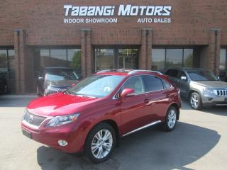 Used 2010 Lexus RX 450h AWD   HYBRID   NAVI   SUNROOF   HTD/COOL SEATS for sale in Mississauga, ON