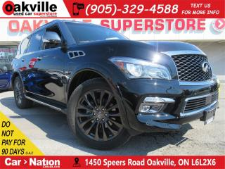 Used 2017 Infiniti QX80 Limited   7 PASS   LEATHER   NAV   360 CAM SUNROOF for sale in Oakville, ON