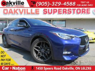 Used 2017 Infiniti QX30 Sport   LEATHER   NAV   360 CAM   PANO ROOF for sale in Oakville, ON