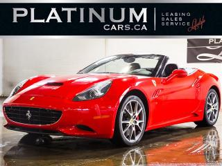 Used 2012 Ferrari California CONVERTIBLE, NAVI, Carbon FIBER, Paddle Shift for sale in Toronto, ON