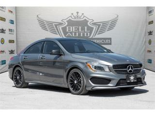 Used 2014 Mercedes-Benz CLA-Class CLA250 DRIVE ASSIST PANO ROOF BACK UP CAMERA for sale in North York, ON