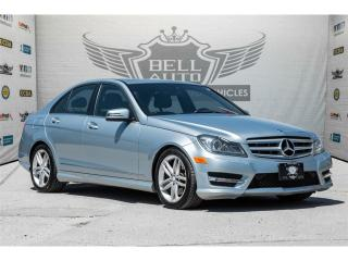 Used 2013 Mercedes-Benz C 300 4MATIC~NAVI~LEATHER~SUNROOF~AWD for sale in North York, ON